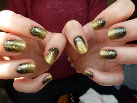 black-and-gold-gradient-nail-boom-boom-pow-deborrah-lippmann