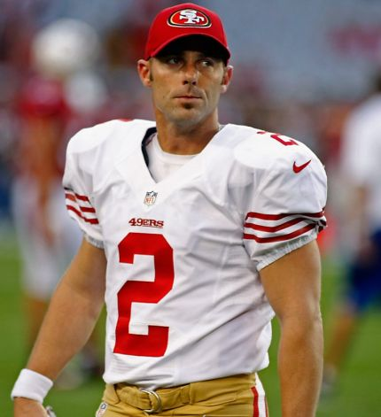 (Photo courtesy of SF gate) David Akers disappointed after missing a field goal.