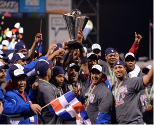 (Photo Courtesy of USA Today) The Dominican Republic wins the World Baseball Classic Finals.