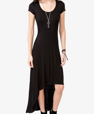 (Photo Courtesy of Forever 21) Casual black high-low dress.