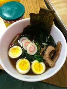One of the final dishes made in Mr. Yuen's Asian Cooking interim: Yakibuta Ramen