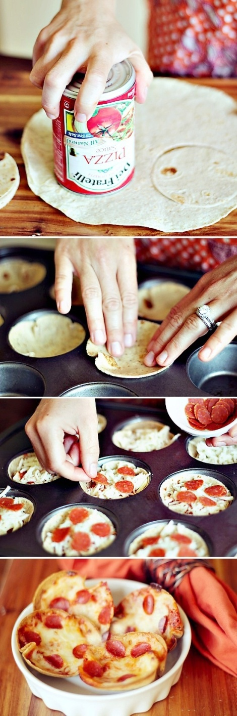 (Photo courtesy of recipesquickneasy.com) Here are the simply steps to making these delicious mini pizzas
