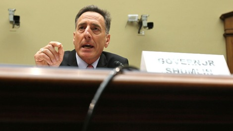(Photo courtesy of Huffington Post) Vermont governor Peter Shumlin approving the assisted suicide law.