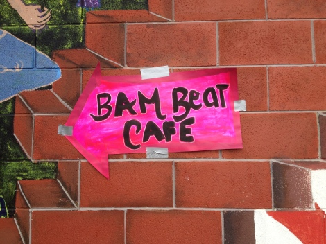 (Photo courtesy of Bridget Pocasangre) BAM Beat Cafe