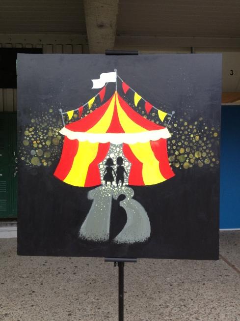 (Photo courtesy of Bridget Pocasangre) Artwork representing BAM 13