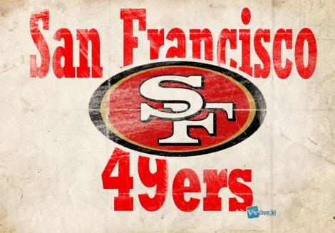 (Photo Courtesy of the San Francisco 49ers)  The SF 49ers' team logo.
