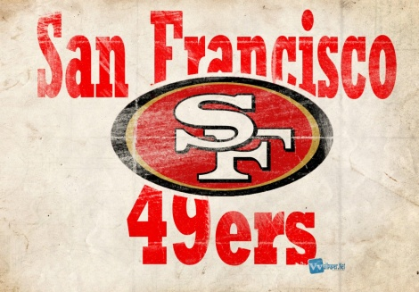 (Photo Courtesy of the San Francisco 49ers)  The SF 49ers' team logo.