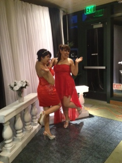 (Photo Courtesy of Dulce Romero) A preview of Joann Bove and Toni Calderon's prom pictures.