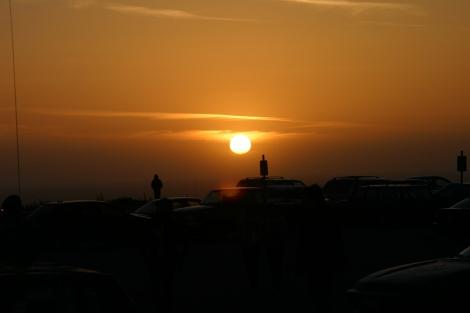 (Photo courtsey of Graham Cruickshank) Sunset at BAM 2010