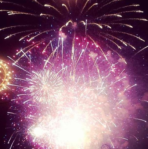 Junior Olivia Tsai captures beautiful fireworks on the fourth of July.