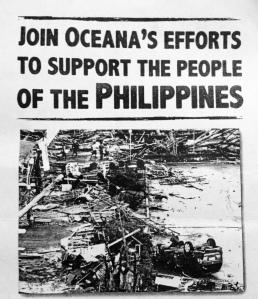 Photo courtesy of Oceana's Kapamilya and Interact club