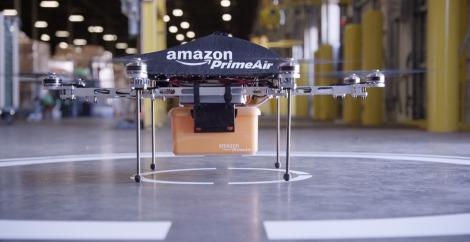 "Amazon ""Prime Air"" Drone. ~Photo courtesy of Amazon.com"