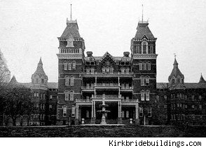 ( photo courtesy of asylum.com This is a photo of the old Lunatic asylum).