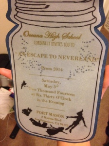 Prom Ticket to OHS Prom 2014. Photo Courtesy of Jeremy C. Curimao.